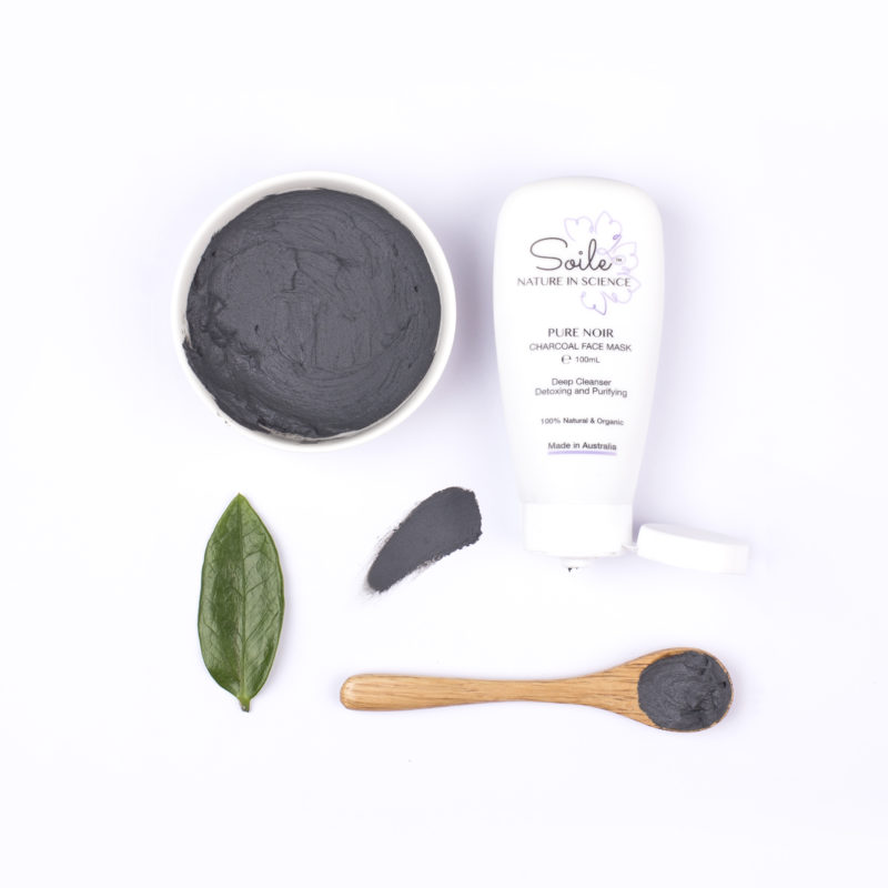 Pure Noir Charcoal Face Mask