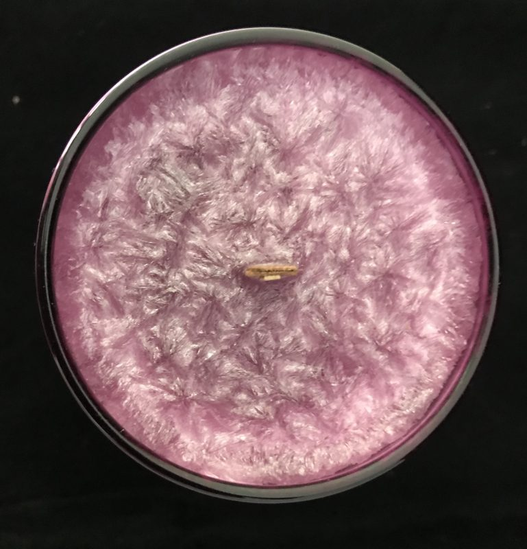 Hot Pink Cloche Natural Soy Wax Candles